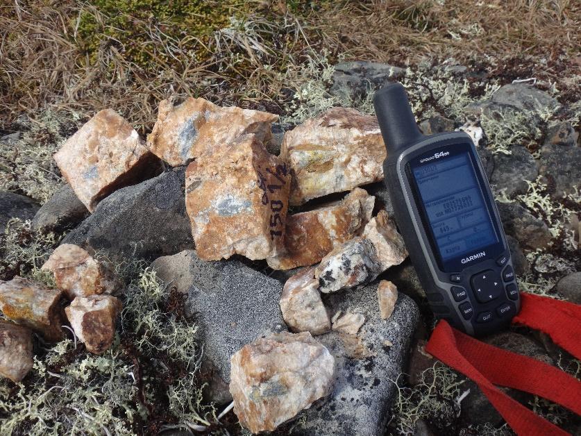 Окварцованные брекчии из минерализованной зоны дробления.